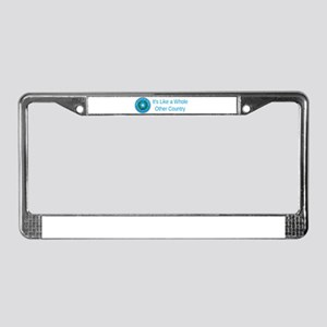 Texas State Seal #2 License Plate Frame