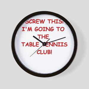 TABLE Wall Clock