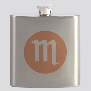 Scorpio Zodiac Flask