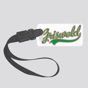 Griswold Jersey Green Small Luggage Tag