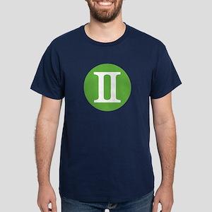 Gemini Zodiac Dark T-Shirt
