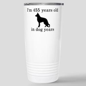 65 birthday dog years german shepherd black 2 Trav