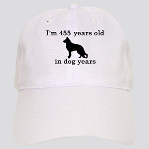 65 birthday dog years german shepherd black 2 Base
