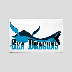 Sea Dragons 3'x5' Area Rug