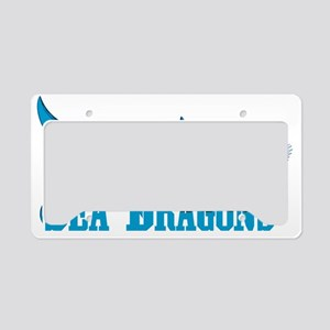 Sea Dragons License Plate Holder