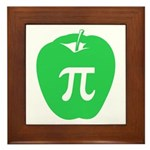 Apple Pi Framed Tile