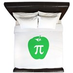 Apple Pi King Duvet