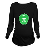 Apple Pi Long Sleeve Maternity T-Shirt