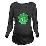 Apple Pi Long Sleeve Maternity T-Shirt