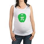 Apple Pi Maternity Tank Top