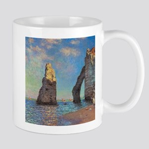 Etretat Cliffs by Monet Mugs