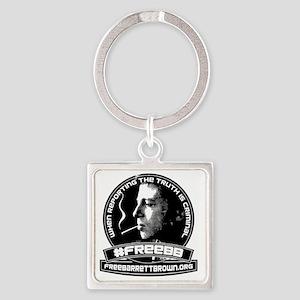 FreeBBshirtfront Square Keychain