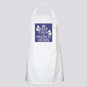 Keep Calm and Play French Horn Apron