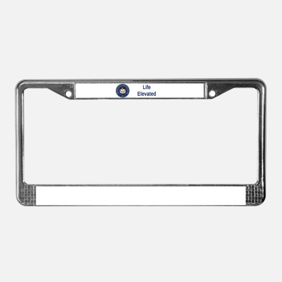 Utah State Seal #3 License Plate Frame