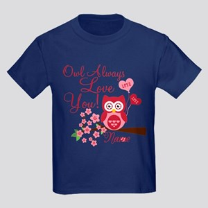 Owl Always Love You Kids Dark T-Shirt