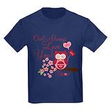 Owl always love you Kids T-shirts (Dark)