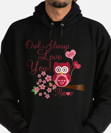 Owl Always Love You Hoodie (dark)