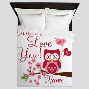 Owl Always Love You Queen Duvet