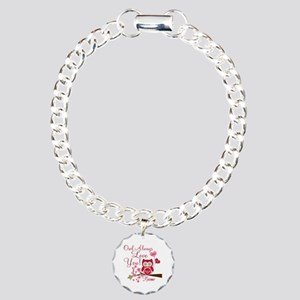 Owl Always Love You Charm Bracelet, One Charm