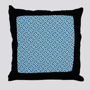 FFblue Throw Pillow