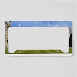 Windsor Castle License Plate Holder