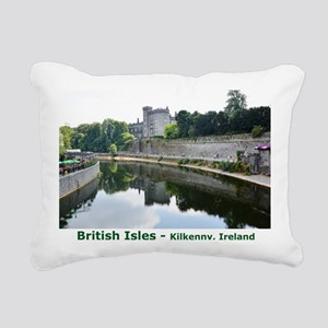 British Isles Rectangular Canvas Pillow