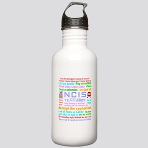 NCIS Abby Quotes Stainless Water Bottle 1.0L
