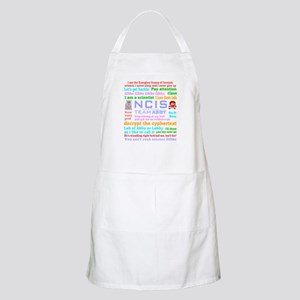 NCIS Abby Quotes Apron