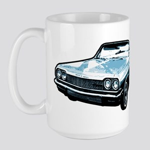 64 impala blue Large Mug