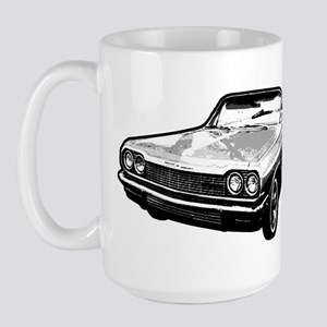 64 impala gray Large Mug