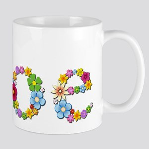Zoe Bright Flowers Mugs