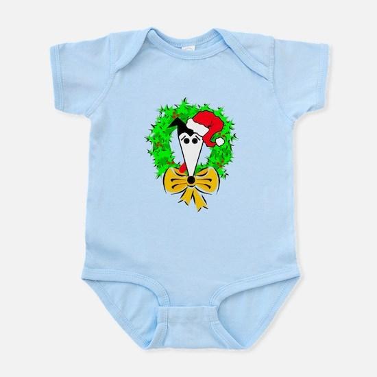 HEISMANS HOLIDAY WREATH BLUE INFANT CREEPER