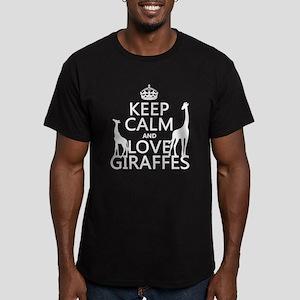 Keep Calm and Love Giraffes T-Shirt