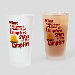 campfire fun Drinking Glass