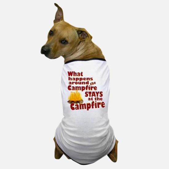 campfire fun Dog T-Shirt