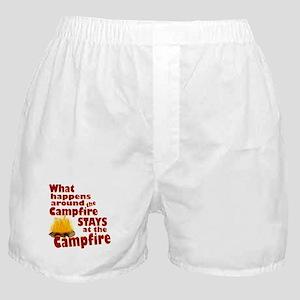 campfire fun Boxer Shorts