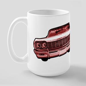 64 impala maroon Large Mug