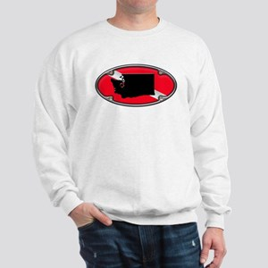 Washington Framed Dive Flag Sweatshirt