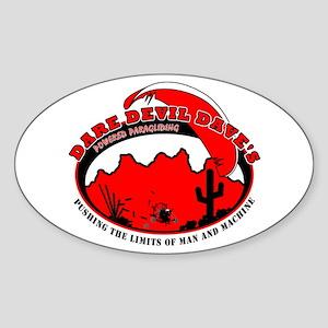 Dare Devil Daves PPG Oval Sticker