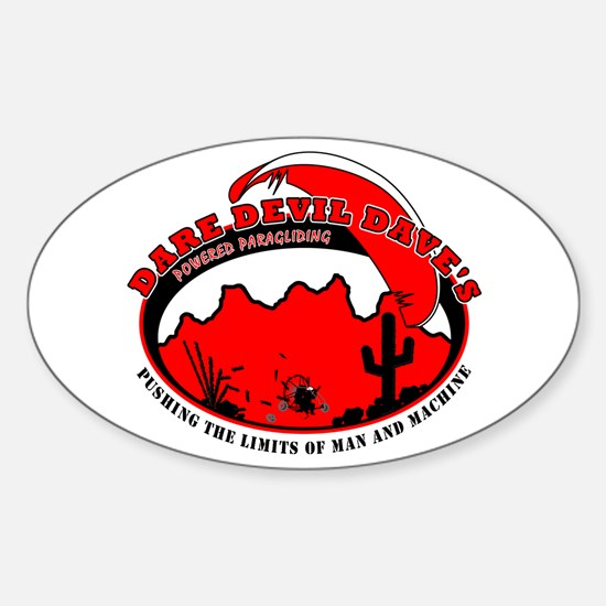 Dare Devil Daves PPG Oval Decal