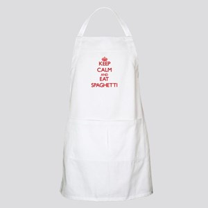 Keep calm and eat Spaghetti Apron