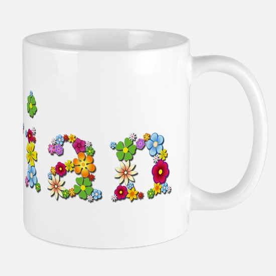 Vivian Bright Flowers Mugs