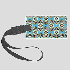 Native American Design Wind Luggage Tag