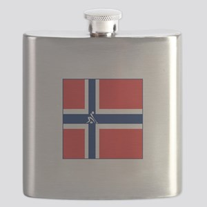 Team Curling Norway Flask