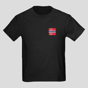 Team Curling Norway Kids Dark T-Shirt