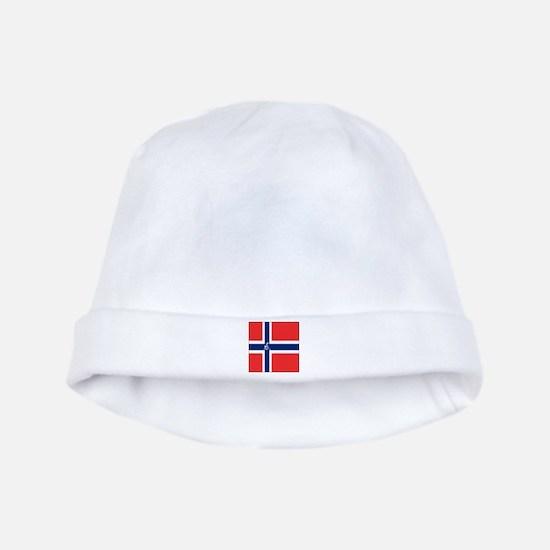 Team Curling Norway baby hat