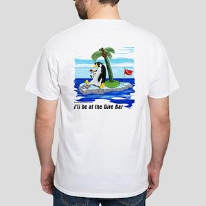 Dive Curacao (PK) \ Dive Bar (BK) White T-Shirt