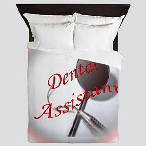 Dental Assistant Queen Duvet