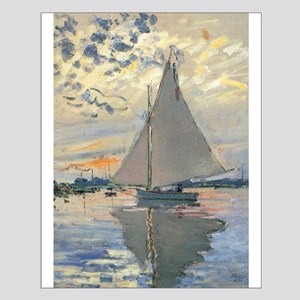 Monet Sailboat French Impressionist Posters