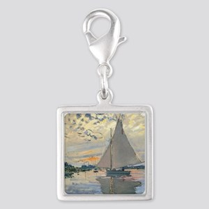 Monet Sailboat French Impressionist Charms